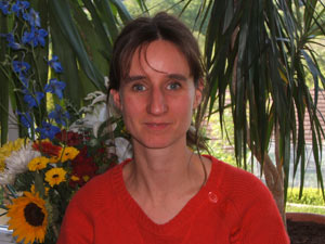 Hannah Penn teaches at Sheffield Yoga School